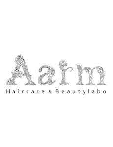 美容室『Aarm』ロゴマーク
