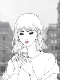 """【work】バンド""""eau""""『嫌い』CDジャケットイラスト"""
