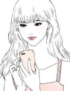 「FUJIMI」サイトのイラスト