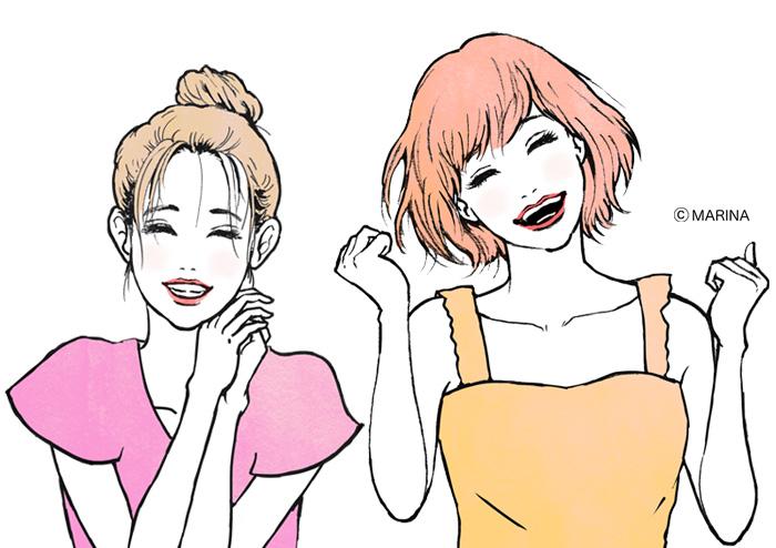 LDK the Beauty 9月号 marina イラストレーター 真吏奈 作品 artwork