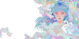【Work】島みやえい子アルバム『Aquarius』のジャケットビジュアル