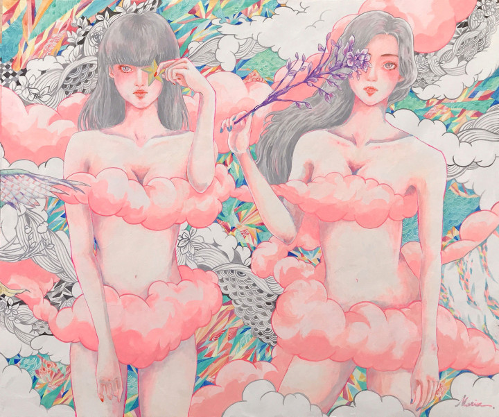 marina イラストレーター 真吏奈 作品 artwork